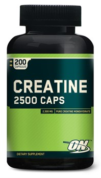 Optimum Nutrition Creatine 2500 Caps (200капс) - фото 4715
