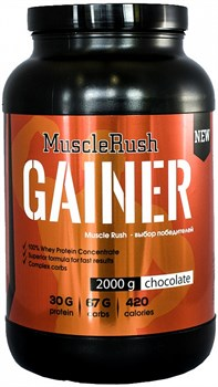 Muscle Rush Gainer (2000гр) - фото 4793
