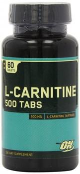 Optimum Nutrition L-Carnitine 500mg (60таб) - фото 4822
