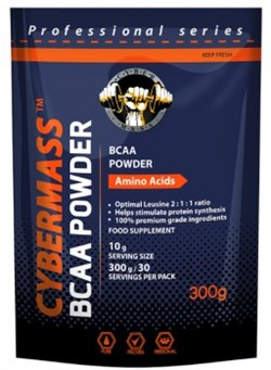 Cybermass - BCAA Powder Pure (300гр) - фото 4957