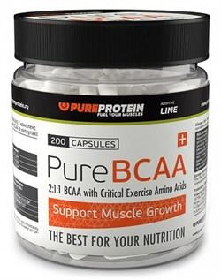 PureProtein - BCAA (200капс) - фото 4960