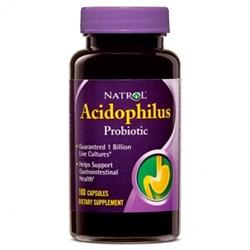 Natrol - Acidophilus (150капс) - фото 5474