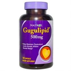 Natrol - Gugulipid (100капс) - фото 5491
