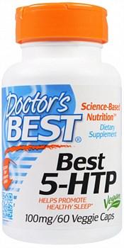 Doctor's Best 5-HTP 100mg (60капс) - фото 6012