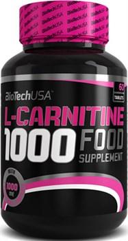BioTech USA L-Carnitine 1000 (60таб) - фото 6049