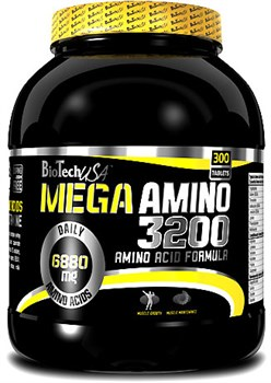 BioTech USA Mega Amino 3200 (300таб) - фото 6105