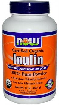 NOW - Inulin Powder Pure Fos (227гр) - фото 6143