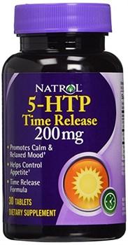Natrol - 5-HTP 200mg Time Release (30таб) - фото 6500