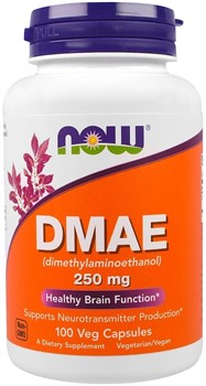 NOW - DMAE 250 mg (100капс) - фото 6826