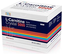LIQUID & LIQUID - L-Carnitine Crystal 5000 (20x60мл) - фото 6959