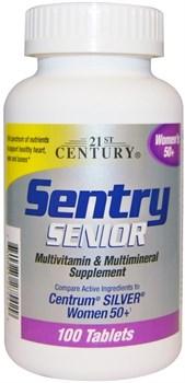 21st Century Sentry Senior Women's 50+ (100таб) - фото 8102