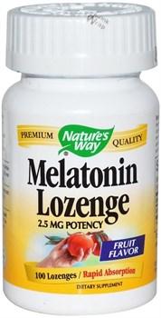 Nature's Way Melatonin Lozenge (100леденцов) - фото 8146