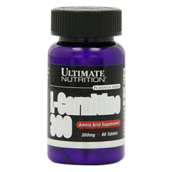 Ultimate Nutrition L-Carnitine 300mg (60таб) - фото 8245