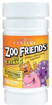 21st Century ZOO Friends with Extra C (60жев.таб) - фото 8714