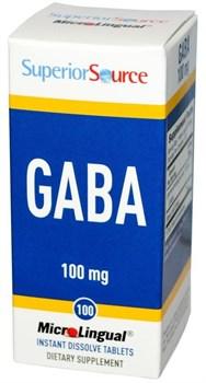 Superior Source GABA 100 mg (100таб) - фото 8716