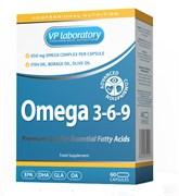 VP Laboratory Omega 3-6-9 (60капс)