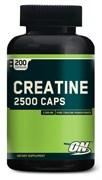 Optimum Nutrition Creatine 2500 Caps (200капс)