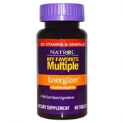 Natrol - My Favorite Multiple Energizer (60таб)