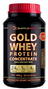 Supplemax - Gold Whey Concentrate (908 гр)