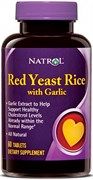 Natrol - Red Yeast Rice with Garlic (60таб)
