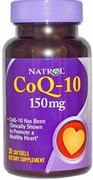 Natrol - CoQ-10 150 mg (30гел.капс)