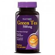 Natrol - Green Tea 500mg (60капс)