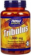 NOW - Tribulus 1000mg (180таб)