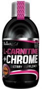 BioTech USA Liquid L-Carnitine + Chrome (500мл)