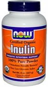 NOW - Inulin Powder Pure Fos (216гр)