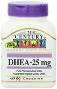 21st Century DHEA 25mg (90капс)