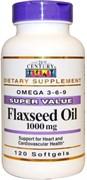 21st Century Flaxseed Oil 1000mg (120капс)