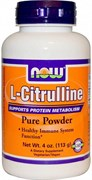 NOW L-Citruline Powder (113гр)
