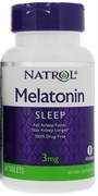 Natrol - Melatonin 3mg (60таб)