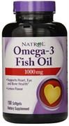 Natrol - Omega 3 Fish Oil 1000mg (150капс)