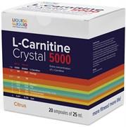 LIQUID & LIQUID - L-Carnitine Crystal 5000 (20x25мл)