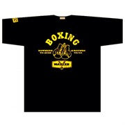 Maxler футболка Boxing (черный)