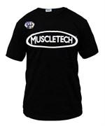 Muscletech футболка (черный)