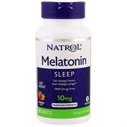 Natrol - Melatonin 10mg Fast Dissolve (60таб)