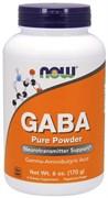 NOW - GABA Pure Powder (170гр)