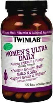 Twinlab Womens Ultra Daily (120капс) - фото 5115