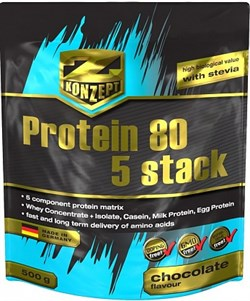 Z-Konzept Nutrition - Protein 80 5 stack (2000гр) - фото 5558