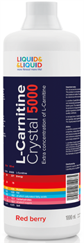 LIQUID & LIQUID - L-Carnitine Crystal 5000 (1000 мл) - фото 6558
