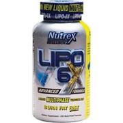 Nutrex Lipo 6x (240капс)