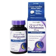 Natrol - Advanced Sleep Melatonin 10mg (60таб)