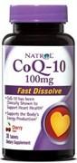 Natrol - CoQ-10 100 mg Fast Dissolve (30таб)