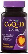 Natrol - CoQ-10 200 mg (45гел.капс)