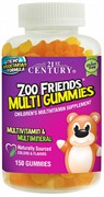 21st Century ZOO Friends Multi Gummies (150жев.таб)