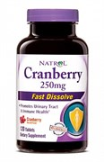 Natrol - Cranberry 250 mg Fast Dissolve (120таб)