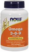 NOW - Omega 3-6-9 1000 mg (100гел.капс)
