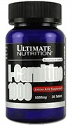 Ultimate Nutrition L-Carnitine 1000mg (30таб)